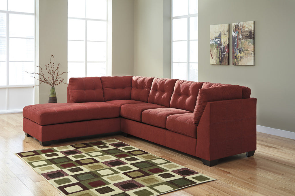 Maier Chaise Sectional - Sienna