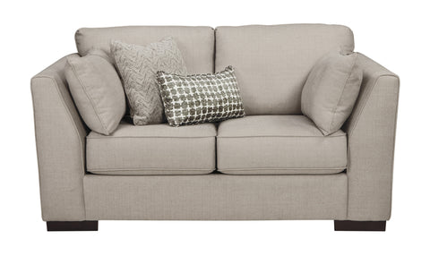 Lainier Loveseat - Alloy