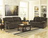 Toletta Reclining Loveseat - Chocolate