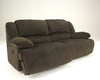 Toletta 2 Seat Reclining Sofa - Chocolate