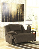 Toletta Zero Wall Wide Seat Power Recliner - Chocolate
