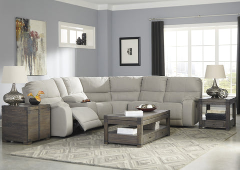 Bohannon Small Reclining Sectional - Putty