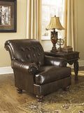 Fresco DuraBlend Accent Chair -  Antique