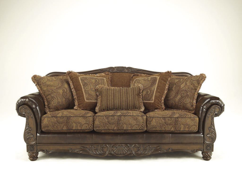 Fresco DuraBlend Sofa - Antique