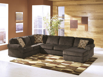 Vista Chaise Sectional - Chocolate