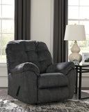 Accrington Rocker Recliner - Granite