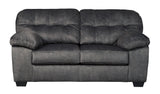Accrington Loveseat - Granite