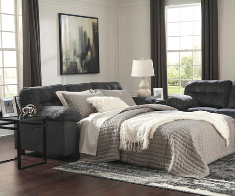 Accrington Queen Sofa Bed - Granite