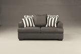 Levon Loveseat - Charcoal