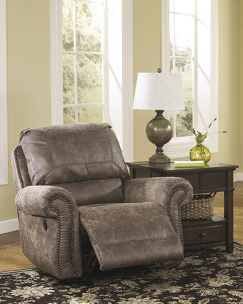 Oberson Swivel Glider Recliner - Gunsmoke
