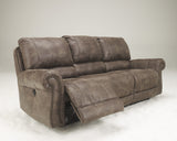 Oberson Reclining Power Sofa - Gunsmoke