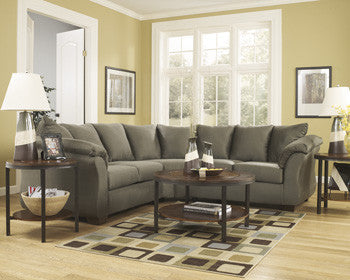 Darcy Sectional - Sage