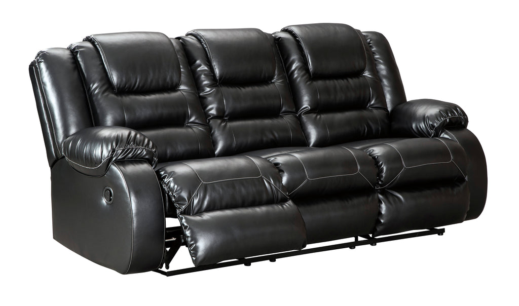 Vacherie Reclining Sofa - Black