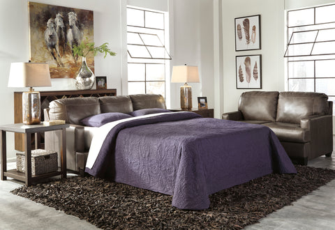 Derwood Queen Sofa Bed - Pewter