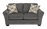 Braxlin Loveseat - Charcoal
