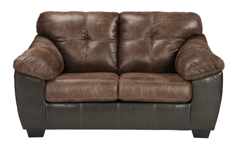 Gregale Loveseat - Coffee