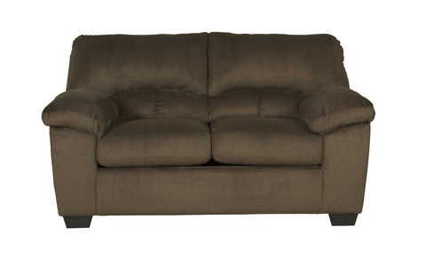 Dailey Loveseat - Chocolate
