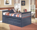 Leo Twin Trundle Bed with Storage