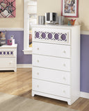 Zayley Five Drawer Chest