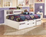 Zayley Bookcase Bedframe