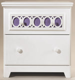 Zayley Two Drawer Night Stand