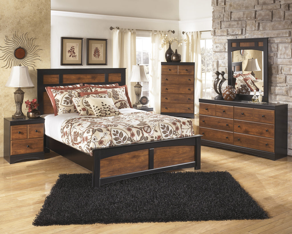 Aimwell Panel Bed Frame