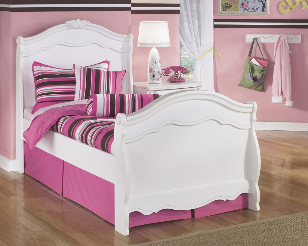 Exquisite Youth Twin Sleigh Bed