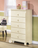 Cottage Retreat Youth 5 Drawer Chest