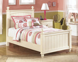 Cottage Retreat Youth Twin Poster Bed w/Storage Option