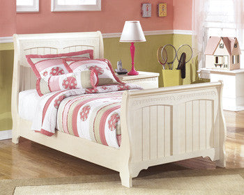 Cottage Retreat Youth Twin Sleigh Bed