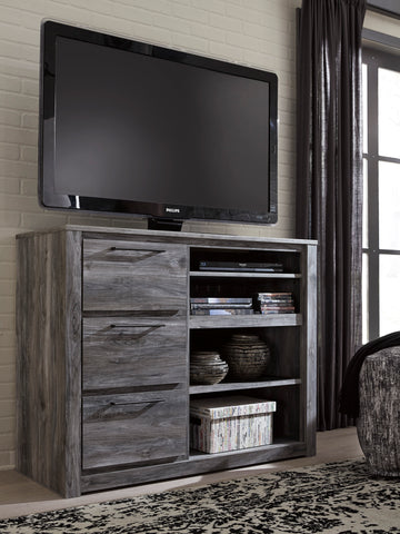 Baystorm Media Chest w/Fireplace Option