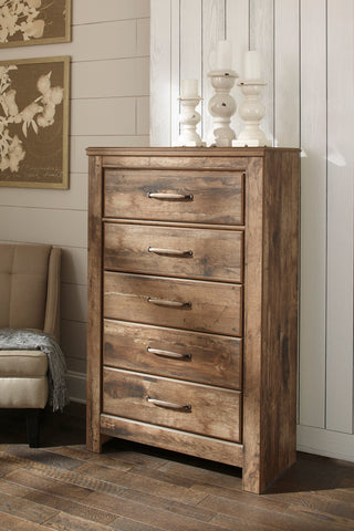 Blaneville Five Drawer Chest