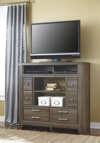 Juararo Media Chest w/Fireplace Option