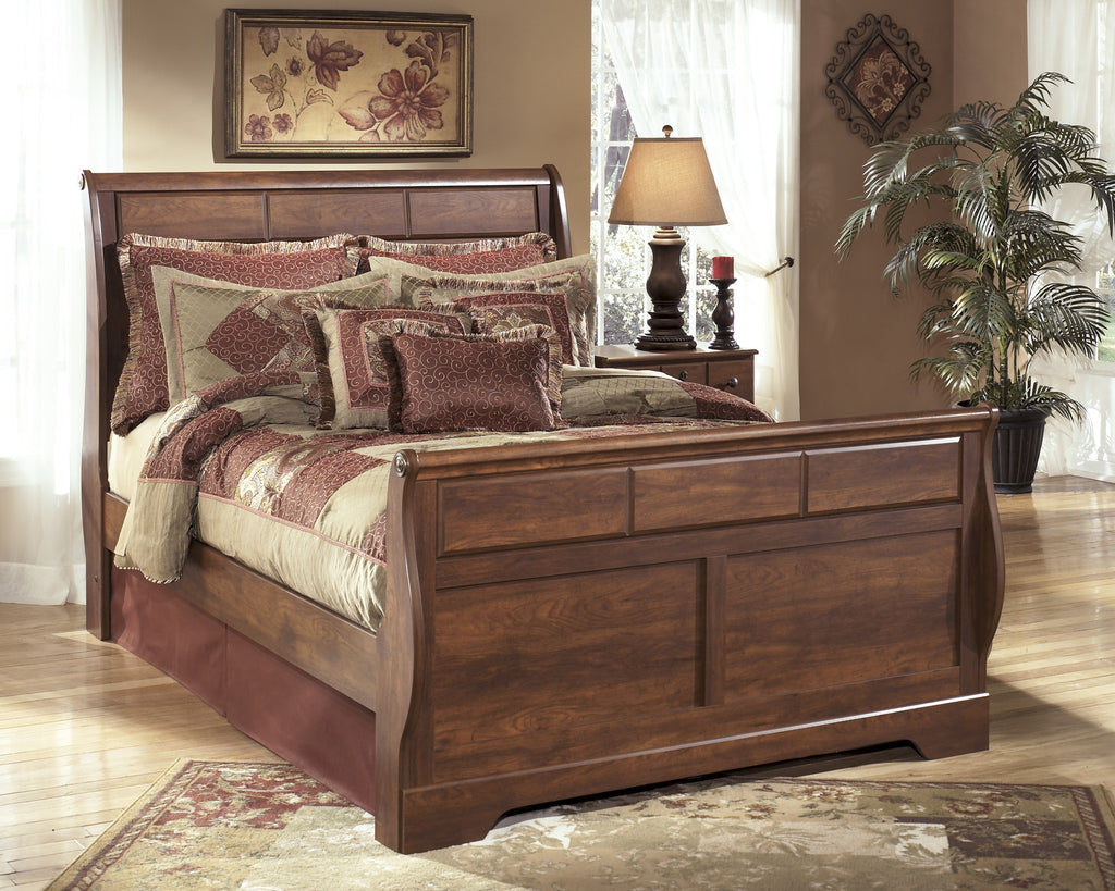 Timberline Sleigh Bed Frame