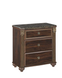 Gabriela Three Drawer Night Stand