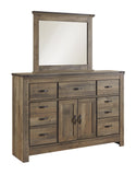 Trinell Dresser w/Fireplace Option