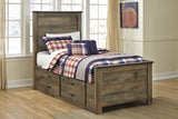Trinell Bed Frame w/Storage Options