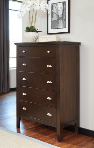Evanburg Five Drawer Chest