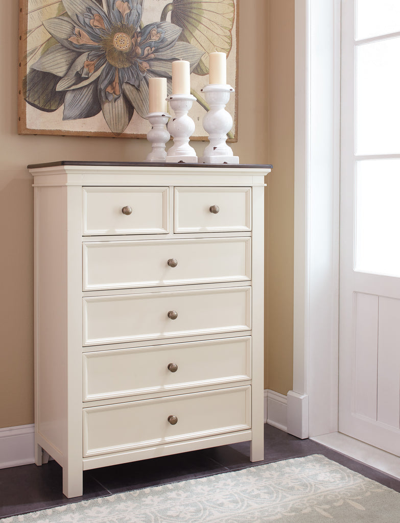 Woodanville Six Drawer Chest