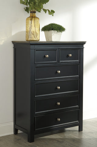 Froshburg Six Drawer Chest