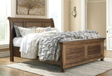Flynnter Sleigh Bed w/Storage Option