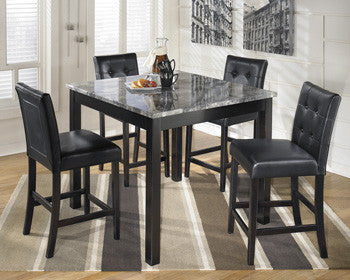 Maysville Square Counter Table Set (5 pieces)