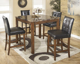 Theo Square Counter Height Table Set (5 pieces)