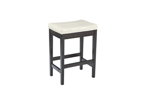 Kimonte Upholstered Counter Height Stools (Set of 2) - Ivory
