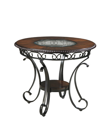 Glambrey Round Dining Room Counter Height Table