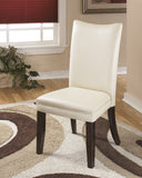 Charrell Dining Ivory Upholstered Side Chair (Set of 2)