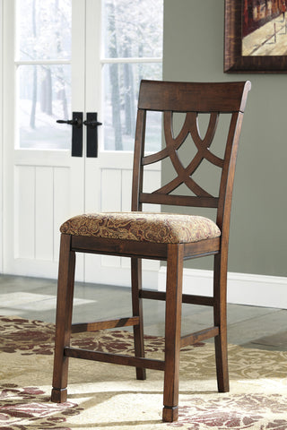 Leahlyn Dining Upholstered Counter Height Stools (Set of 2)