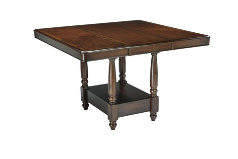 Leahlyn Dining Rectangular Counter Height Extendable Table