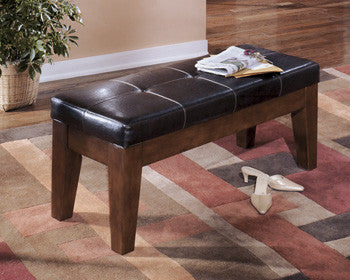 Larchmont Large Upholstered Dining Room Bench