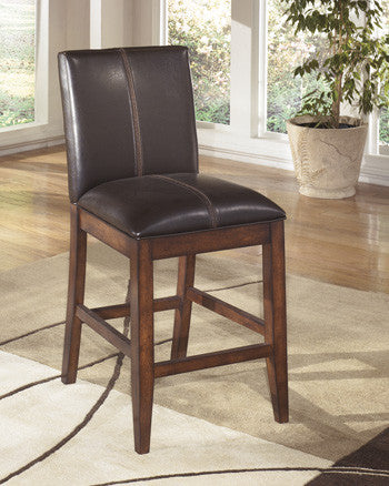 Larchmont Upholstered Counter Height Stools (Set of 2)